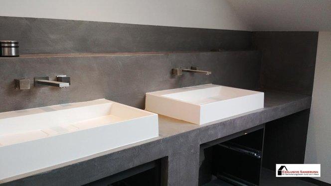 Fugenlose Badezimmer Badsanierung - Badsanierung alternative zu fliesen
